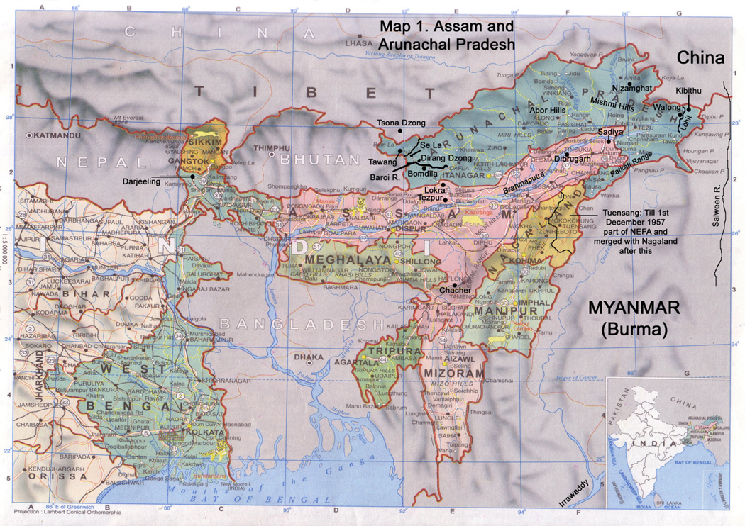 The History of Sino-Indian Relations and the Border ...