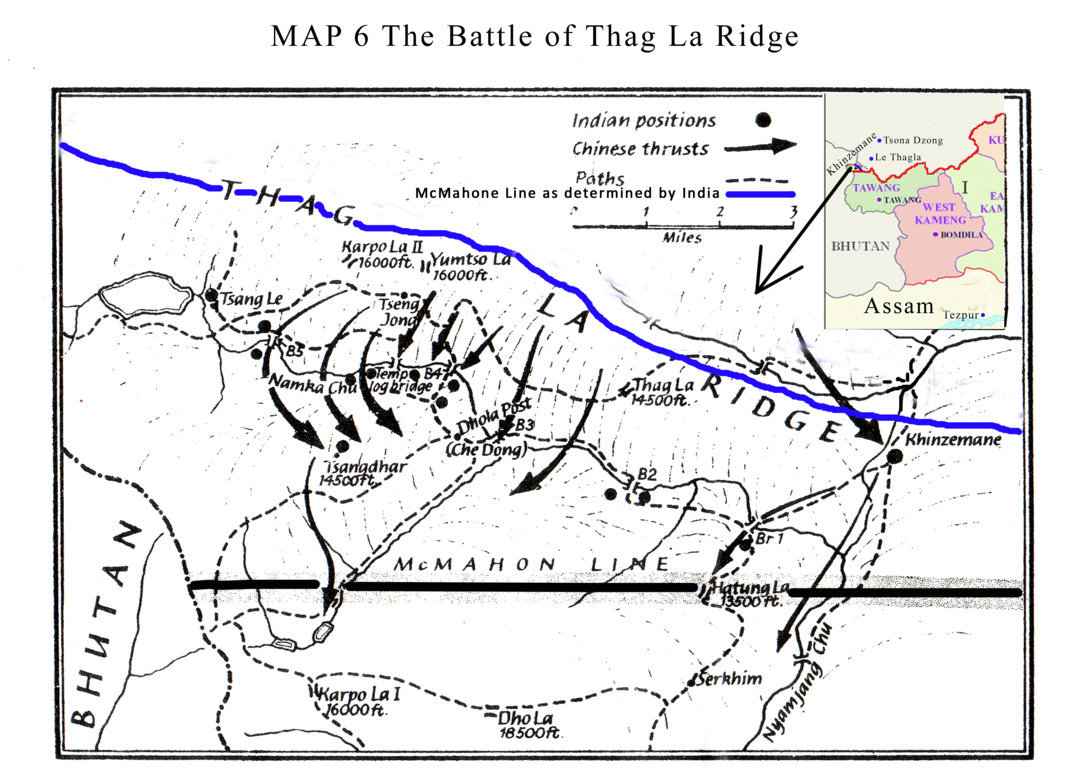 Tagla Ridge Battle, Map 6