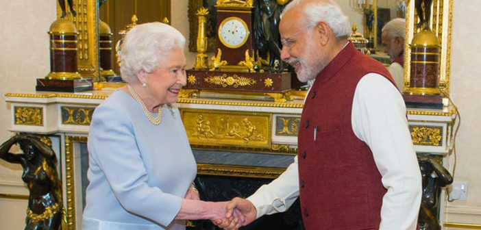 Modi's U.K. Visit: The Fading Away of Britain